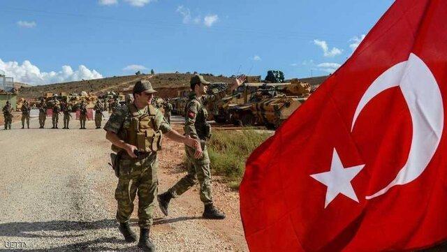 کشته شدن یک سرباز ترک در حمله کردها در راس العین