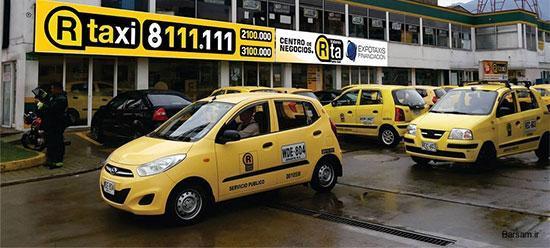 تاکسی های جالب دنیا در یک نگاه