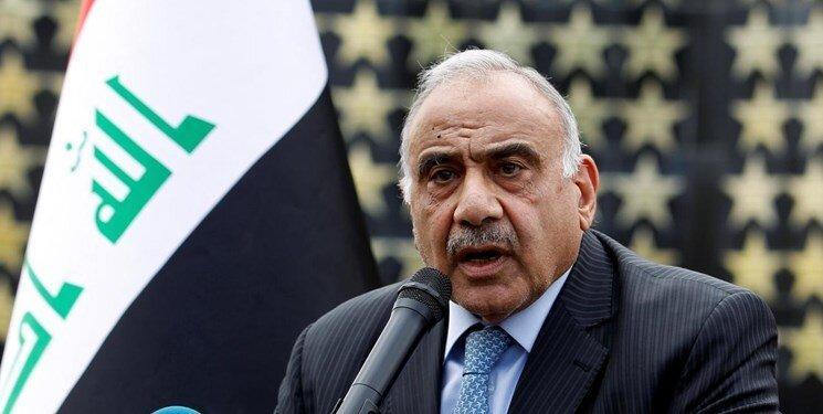 عبدالمهدی: استعفای خود را تقدیم مجلس می کنم