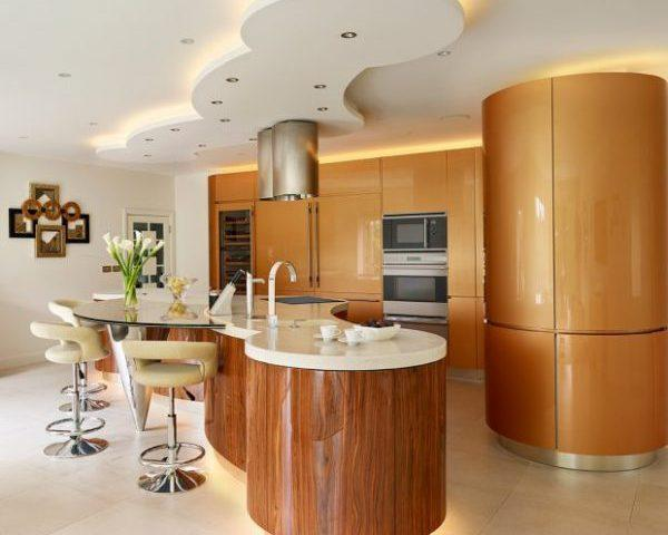 ایده های مختلف طراحی جزیره زیبا در آشپزخانه
