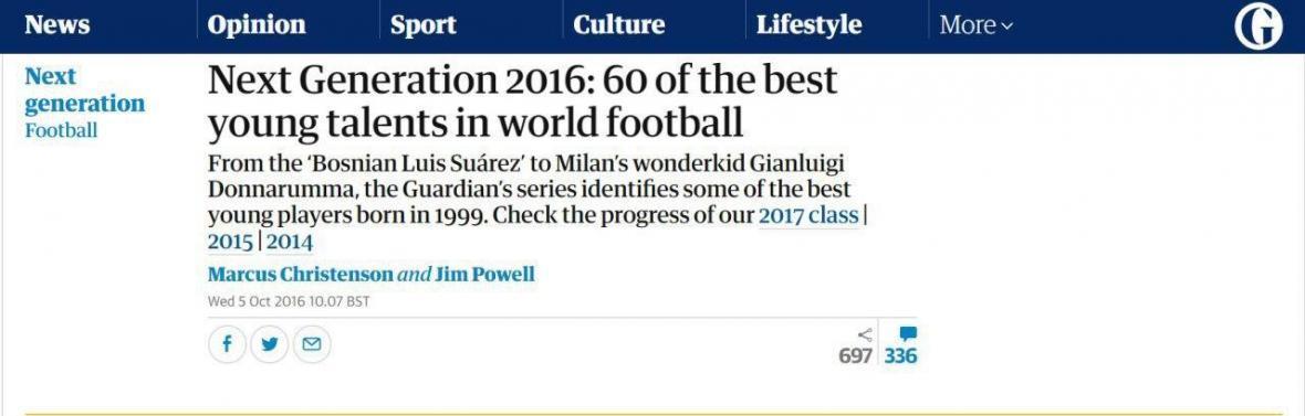 خرید بعدی پرسپولیس از لیست گاردین انگلیس می آید