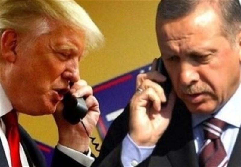 گفتگوی تلفنی اردوغان و ترامپ درباره تحولات ادلب