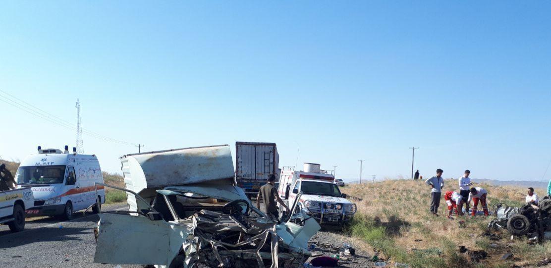 خبرنگاران سانحه رانندگی در سبزوار سه کشته بر جای گذاشت