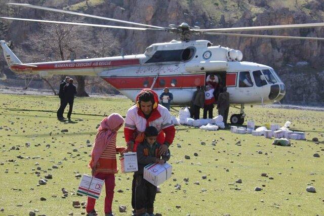 امدادرسانی به 38 خانوار در عملیات مشترک هلال احمر و فدراسیون قایقرانی