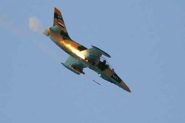 سقوط دو جنگنده سوریه بر فراز ادلب از سوی جنگنده های ترکیه
