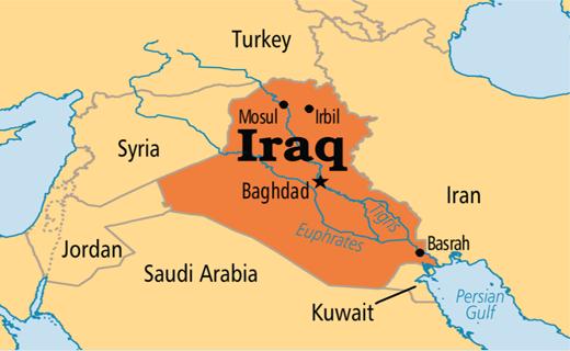 حمله به مواضع نیرو های الحشد الشعبی عراق