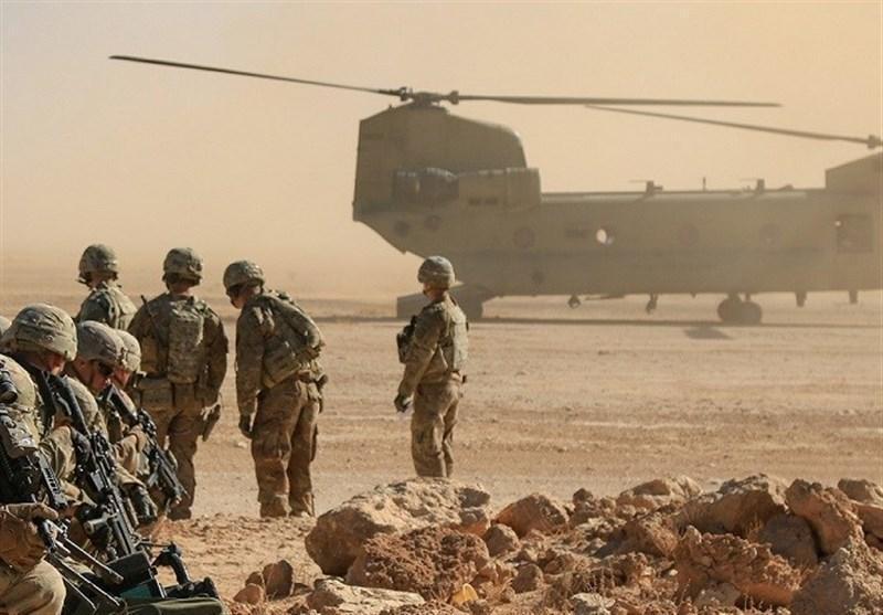 حمله موشکی به پادگان تروریست های آمریکایی در شمال بغداد