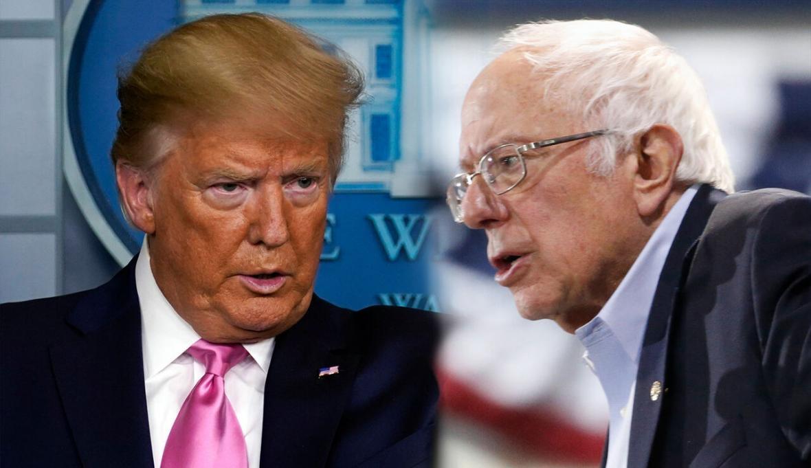خبرنگاران ترامپ: سندرز به زودی از گود رقابت حذف می شود