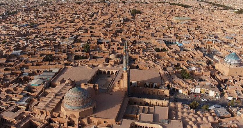 صدای پای سکوت در نخستین شهر خشتی دنیا ، یزد را مجازی ببینیم