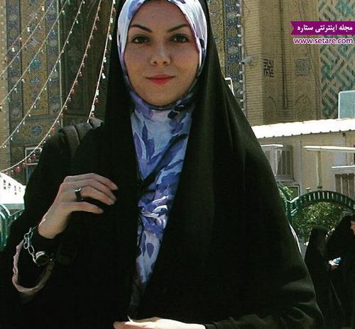 عکس جالب آزاده نامداری در نجف اشرف