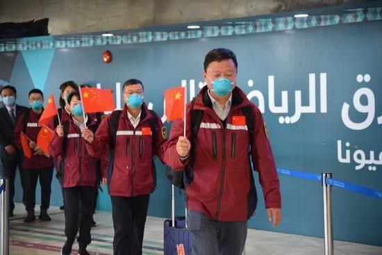 اعزام تیم پزشکی چین به عربستان و کشورهای آفریقایی