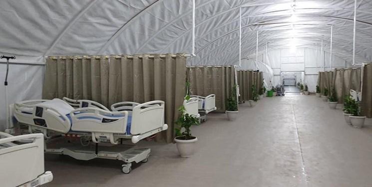 الحشد الشعبی یک بیمارستان دیگر ویژه بیماران کرونا در جنوب عراق افتتاح کرد