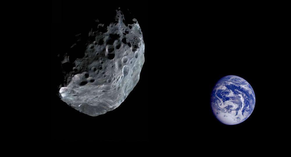 نزدیک شدن سیارکی عظیم به زمین