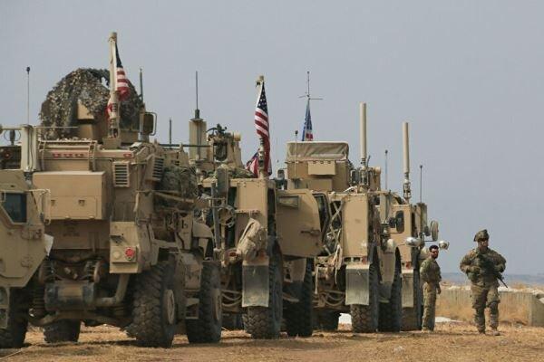 ارتش آمریکا 50کامیون تجهیزات نظامی ولجستیک ازعراق به سوریه فرستاد