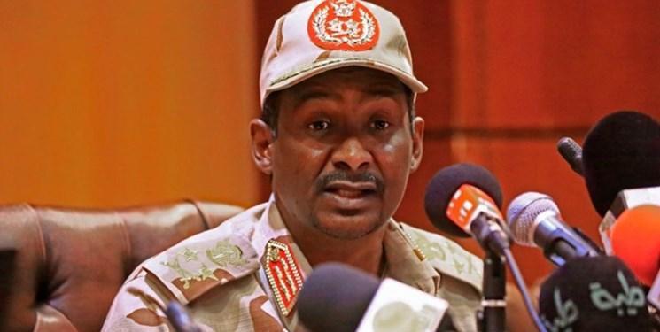 سودان ، حمیدتی: نیروهای ما در لیبی نمی جنگند؛حفتر با میانجیگری خارطوم مخالفت کرد