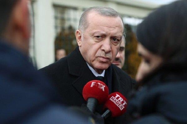 اردوغان: درگیری در لیبی تا تسلط بر سرت ادامه دارد