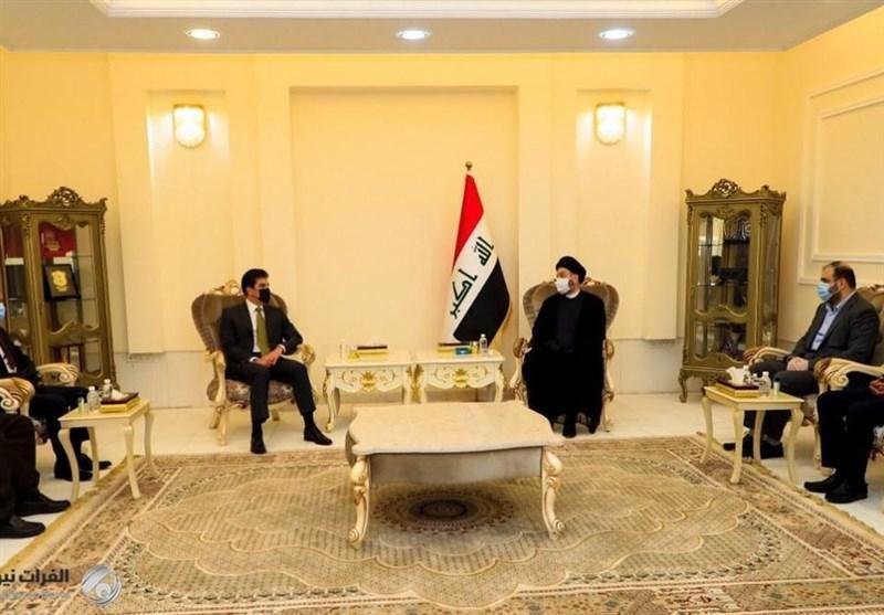 عراق، جزئیات ملاقات سید عمار حکیم و رئیس اقلیم کردستان