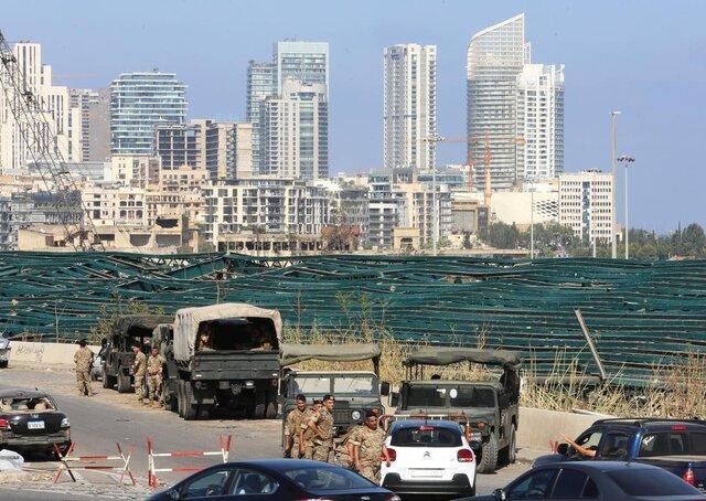 امیدی نمانده ... لبنانی ها در حال برآورد خسارات انفجار
