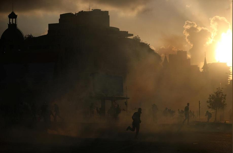 خشم مردم بعد از انفجار بیروت