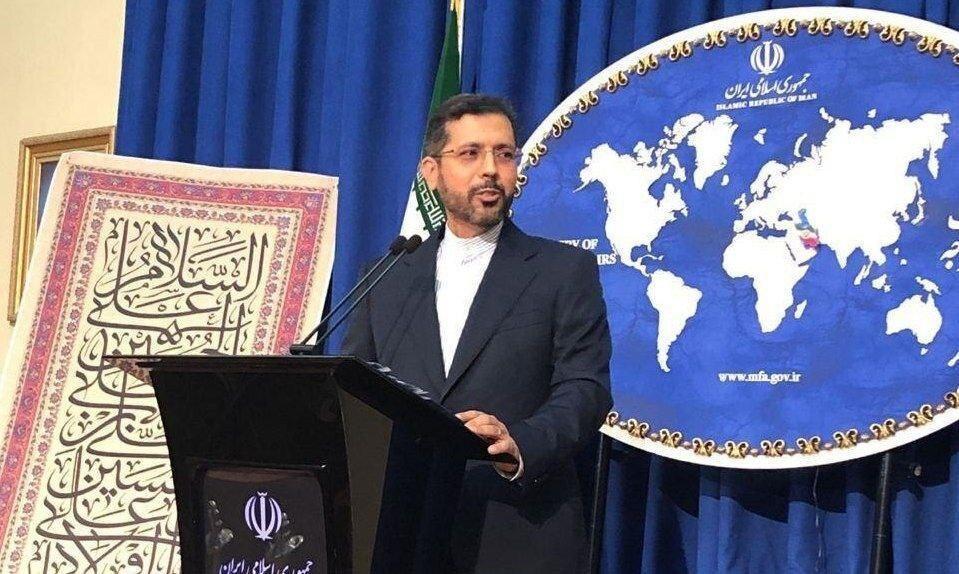توئیت دربی سخنگوی وزارت خارجه:جای همه ما خالی، عکس