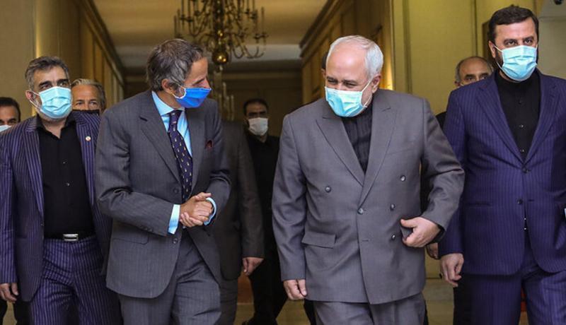 مدیرکل آژانس بین المللی انرژی اتمی با ظریف ملاقات کرد