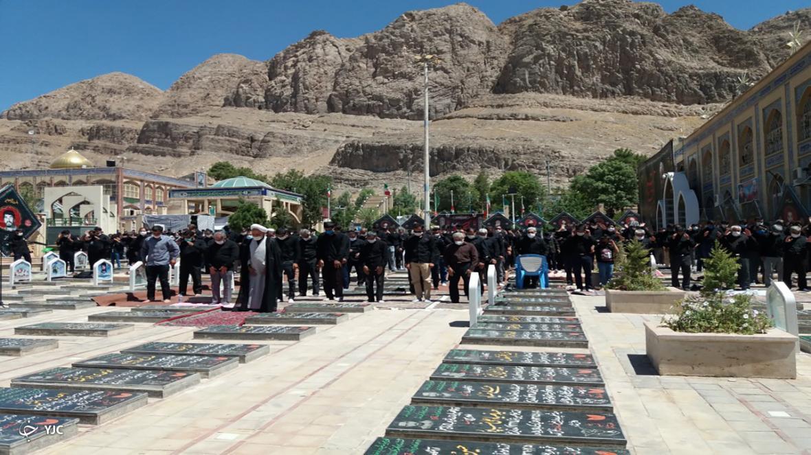 اقامه نماز ظهر عاشورا در کرمان