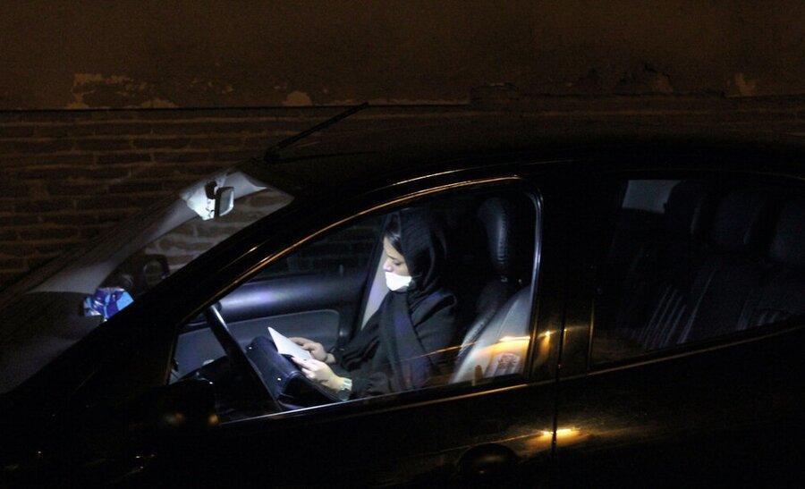 عزاداری خودرویی دهه دوم محرم در شیراز اجرا می گردد