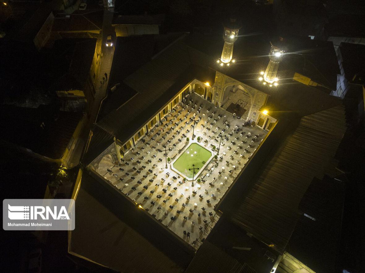 خبرنگاران آیین سوگواری شام غریبان در گلستان برگزار گشت