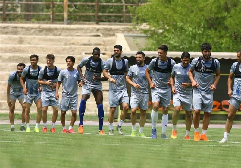گزارش تمرین استقلال، غیبت سه بازیکن در تمرین امروز