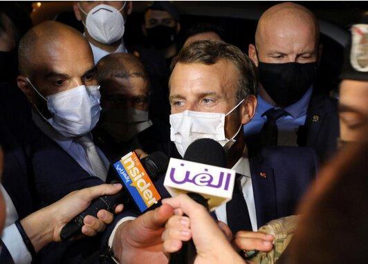 هدف مکرون از سفر به بغداد