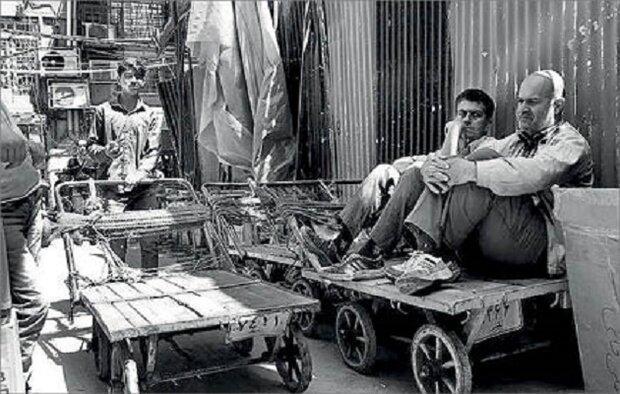ساماندهی و شناسایی حاملان چرخ دستی در محدوده بازار تهران