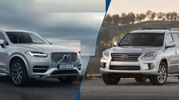 خودروی مناسب خود را انتخاب کنید؛ولوو XC90 یا لکسوس LX570