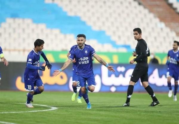 لیگ برتر فوتبال، استقلال برنده دیدار با آلومینیوم در نیمه اول