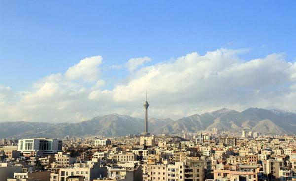 شرایط آب و هوا امروز شنبه 4 بهمن 99؛ دمای هوای تهران 7 درجه افزایش می یابد