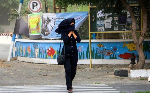 هشدار هواشناسی نسبت به وزش باد شدید در 22 استان