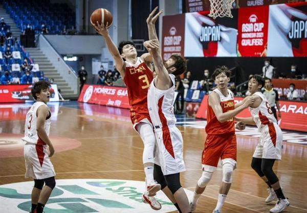 بسکتبال انتخابی کاپ آسیا، سومین پیروزی متوالی چین، صعود 9 تیم قطعی شد