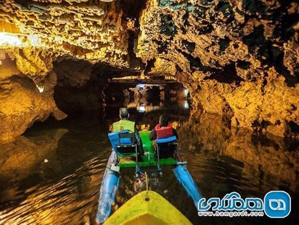 مجموعه غار علیصدر پس از هفت ماه تعطیلی بازگشایی شد