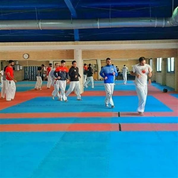 شروع ازدوی ملی پوشان کاراته، شاگردان هروی تا 5 تیر در اردو خواهند بود