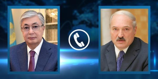 گفت وگوی تلفنی روسای جمهور قزاقستان و بلاروس